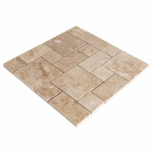 20012345-cappucino-polished-marble-mosaics-1x4x38-top-angle-view-www.thulahome.com