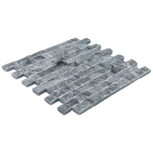20012458-space-gray-split-face-marble-mosaics-1x2-single-view-angle-www.thulahome.com
