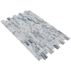 20012459-split-face-lilac-marble-stacked-stone-ledger-panel-6x24-multi-angle-view-model-a-www.thulahome.com