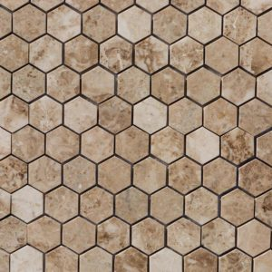 20020069-cappuccino-marble-mosaics-polished-2-hexagon-top-close-view-www.thulahome.com