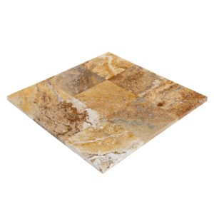 20020070-meandros-gold-yellow-travertine-pavers-12x12-multi-top-angle-view-www.thulahome.com