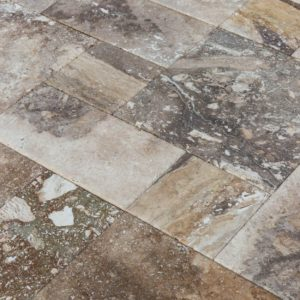 conglomerate-antique-pattern-travertine-tiles-close-angle-view-wet-www.thulahome.com