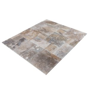 conglomerate-antique-pattern-travertine-tiles-multi-top-angle-view-wet-www.thulahome.com