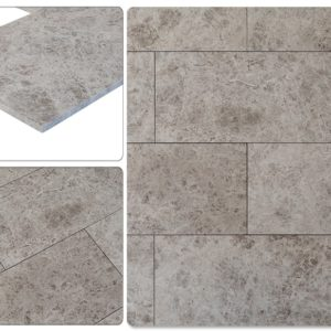 3-50087361-Kesir Tundra Light Gray Polished Marble Tiles-compare-view