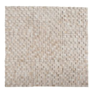 20016372-1-Cappuccino-Marble-3d-1x1-polished-mosaics