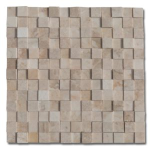 20016372-8-Cappuccino-Marble-3d-1x1-polished-mosaics