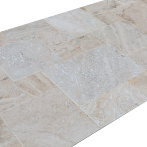 10075602-Philadelphia-Antique-French-Pattern-Set-Travertine-Tile-angle-side-view-2S3A2582