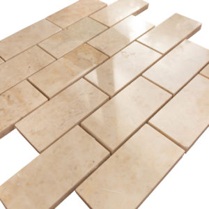 20012347-cappucino-polished-marble-mosaics-2x4-top-angle-view-2S3A3833