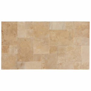 20071439-Denizli-Beige-French-Pattern-Travertine-Tile-Filled-Brushed-Straight-Edge-Multi-Top-Sealed-View-2S3A3725