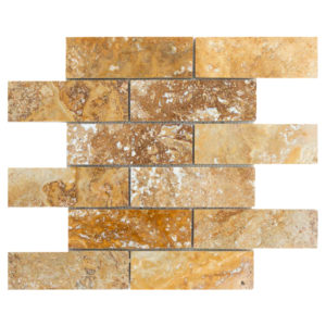 20012416-scabos-travertine-mosaics-brushed-filled-2x6-top-piece-profile-