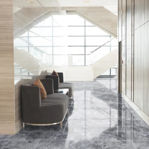 10087357-Tundra-Earth-Gray-Marble-Tile-Polished-12x24-hallway-view-2S3A7035