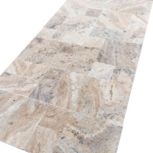 20075603-Philly-Antique-French-Pattern-Set-Travertine-Tile-Brushed-Chiseled-Partially-Filled-angle-view-2S3A7252