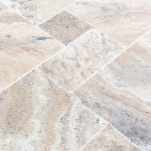 20075603-Philly-Antique-French-Pattern-Set-Travertine-Tile-Brushed-Chiseled-Partially-Filled-close-angle-view-2S3A7253