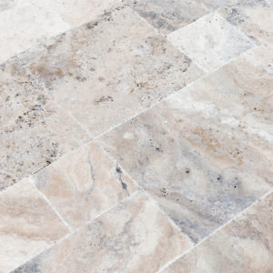 20075603-Philly-Antique-French-Pattern-Set-Travertine-Tile-Brushed-Chiseled-Partially-Filled-close-view-2S3A7251