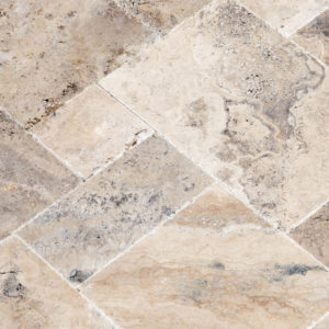 20075603-Philly-Antique-French-Pattern-Set-Travertine-Tile-Brushed-Chiseled-Partially-Filled-close-view-2S3A7255